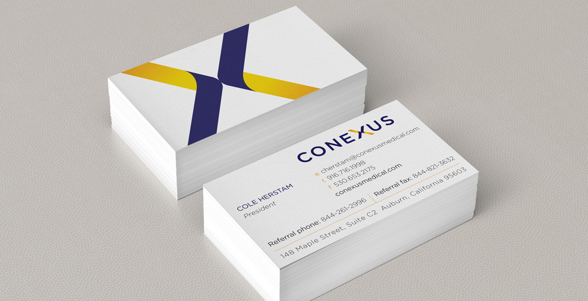 Conexus Medical business cards