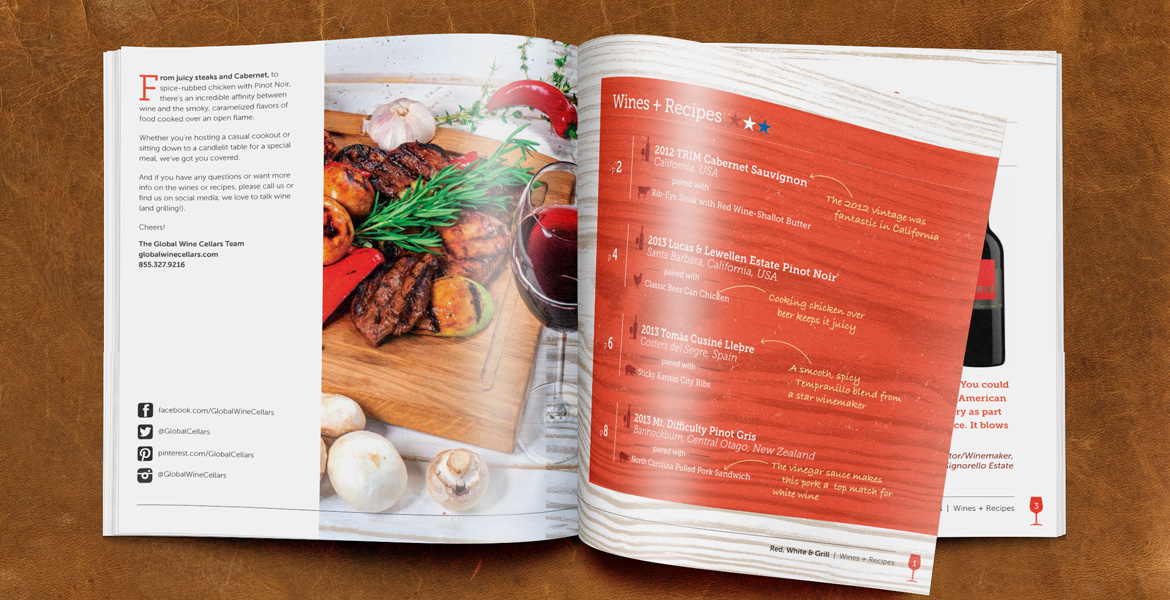 GWC Grilling Guide inside spread