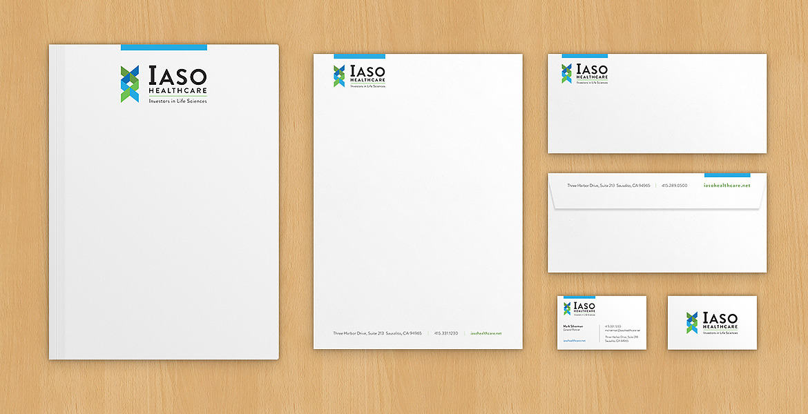 Iaso Healthcare business collateral
