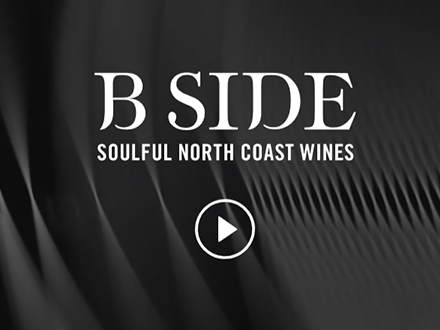 B Side Wines website