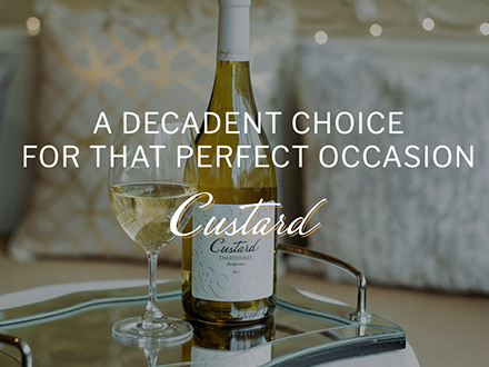 Custard Wines website