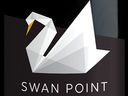 Swan Point wine packaging
