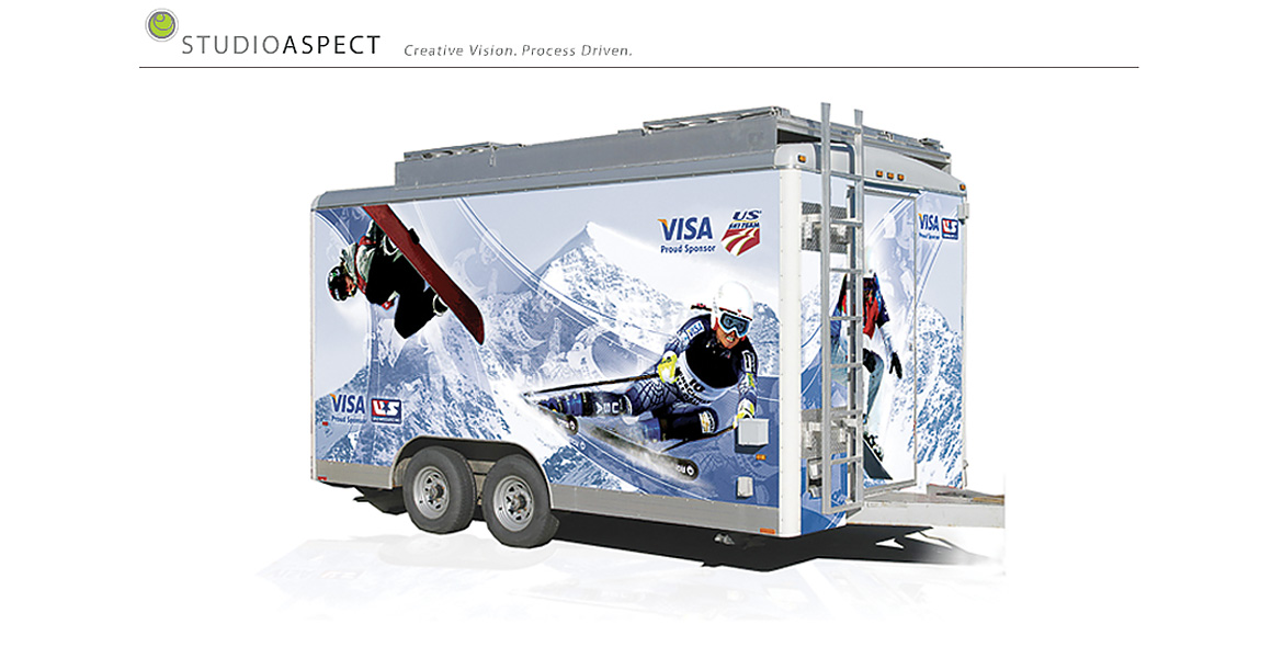 USSSA trailer wrap